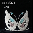 Rhinestone Butterfly Crowns
