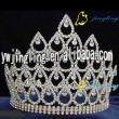 large silver rhinestone crystal pearadise pageant crown for sale