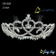 middle crystal custom pageant tiaras