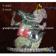 Animal Crown Crocodile Shape