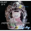 cute crystal animal crown