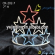 seven star charm Patriotic Crown