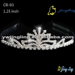 flower rhinestone cheap crown small tiaras