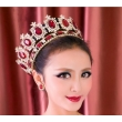 Beauty Full Round Pageant Crowns For Queen