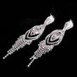 Red Vintage Big Women Drop Fashion Elegant Design Europe Jewelry Earrings