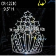 large star shape tiara pageant patriotic crown