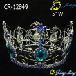 full round rhinestone crown