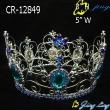full round rhinestone crown