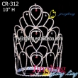 large special design rhinestone pageant crown CR-312