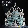 Diamond shape star pageant crowns