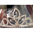 silver plated girl  mini  crown 069