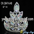 AB rhinestone wholesale pageant crown for sale