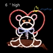 happy doll bear princess valentine tiara