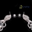 Luxury Earrings Fashion Rhinestone Tassel Drop earrings High quality Fashion Long Earrings for women