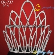 big crown rhinestone pageant crown