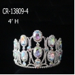 New Cheap Wholesale Rhinestone Large Pageant Crown
