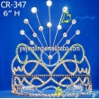 large tiara flower pageant crown