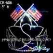 Patriotic Crown Star Flag Shape